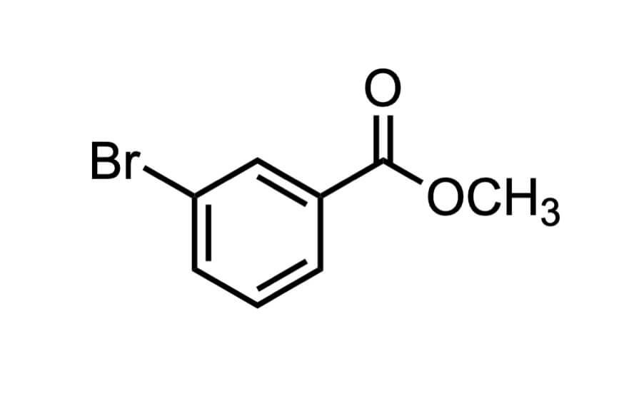 3-ブロモ安息香酸メチルの構造式