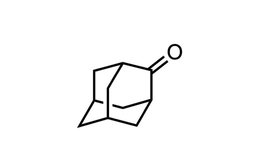 2-アダマンタノンの構造式