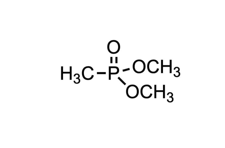 メチルホスホン酸ジメチルの構造式