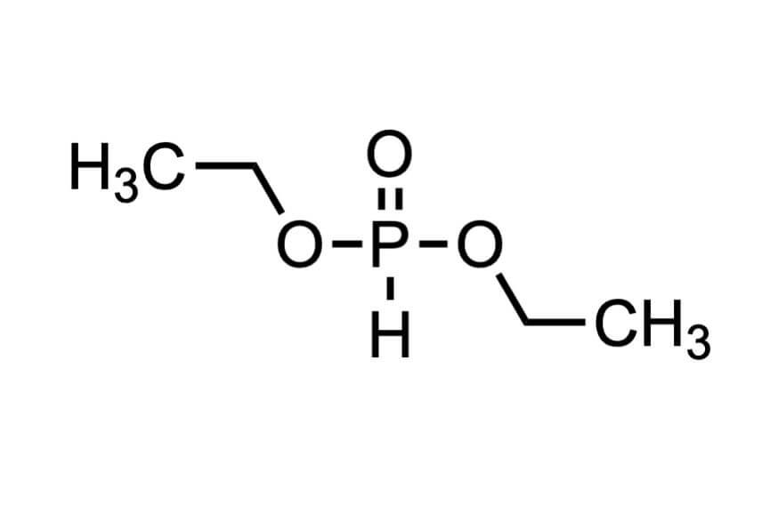 亜りん酸ジエチルの構造式