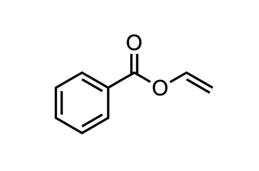 安息香酸ビニルの構造式